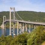 70 Tjeldsund - Bridge to Island Hinnøya (Vesterålen)