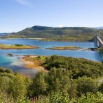 71 Tjeldsund - Bridge to Island Hinnøya (Vesterålen)